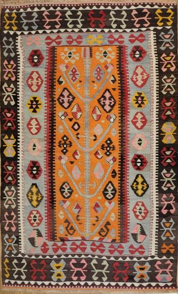 R6869 Turkish Kilim Rug