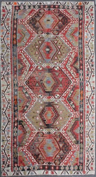 R7467 Turkish Kilim Rug