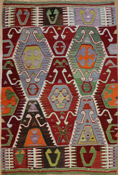 R8517 Turkish Kilim Rug