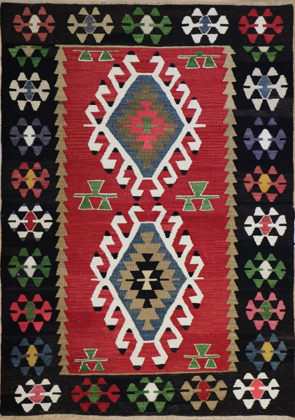 R8519 Turkish Kilim Rug