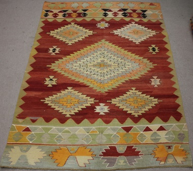 R8523 Turkish Kilim Rug