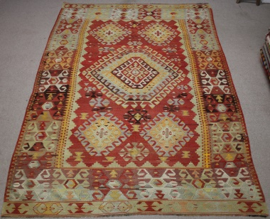 R8527 Turkish Kilim Rug