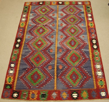 R8760 Turkish Kilim Rug