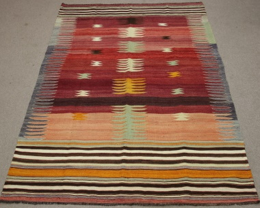 R8763 Turkish Kilim Rug