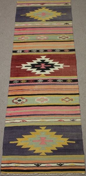 R8535 Turkish Kilim Rug Runner