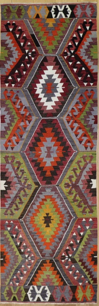 R8569 Turkish Kilim Rug Runner
