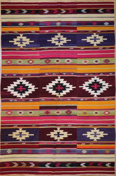 R8928 Turkish Kilim Rugs