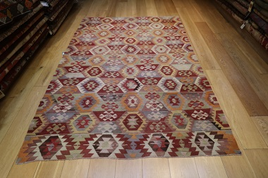R8574 Turkish Kilim Rugs