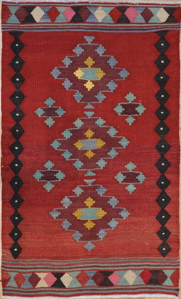R8953 Turkish Kilim Rugs UK