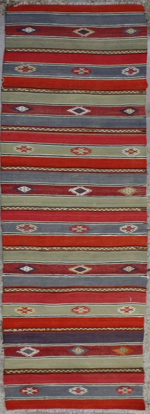 R6616 Turkish Kilim Runner
