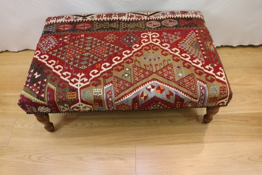 R4008 Turkish Kilim Stool