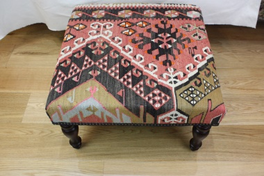 R4063 Turkish Kilim Stool Table