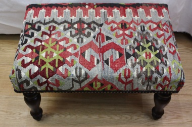 R4046 Turkish Kilim Stools