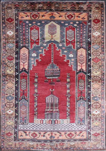 R165 Turkish Konya Carpets