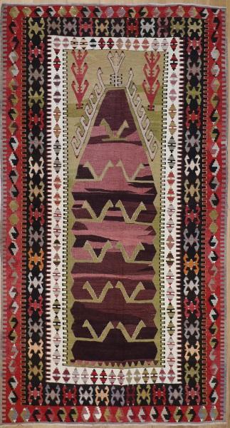 R7618 Turkish Konya Obruk Kilim