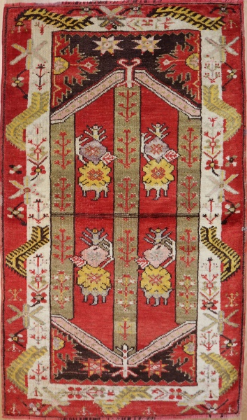 R4447 Turkish Milas Rug