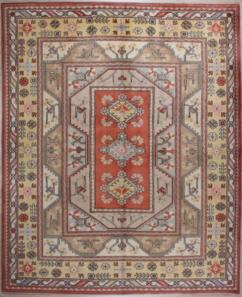R7677 Turkish Milas Vintage Carpets