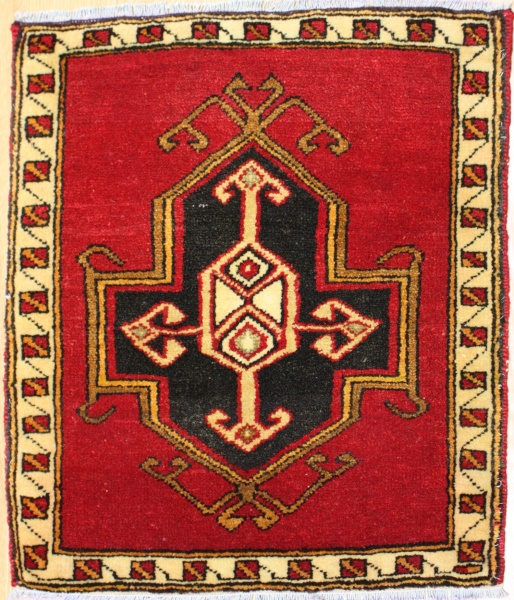 Turkish Small Vintage Rug R7220