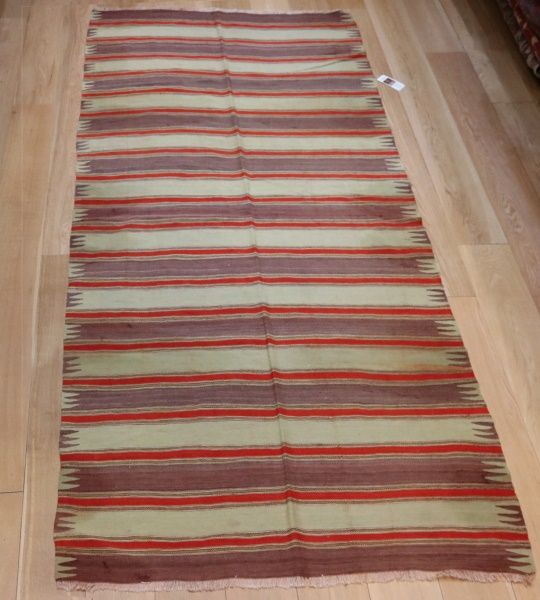 Turkish Striped Kilim Rugs R9034