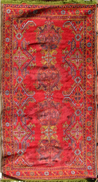 R3321 Turkish Ushak Carpet