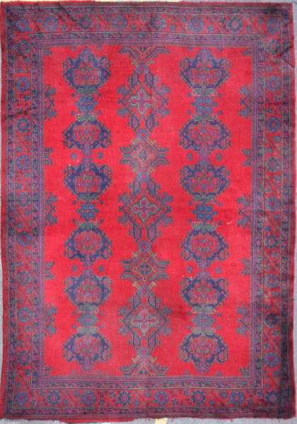 R5318 Turkish Red Ushak Carpet