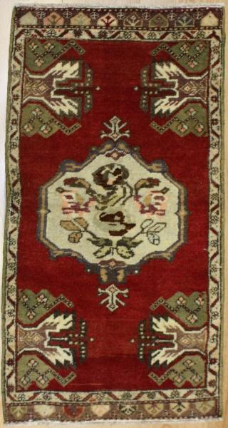 Turkish Vintage Anatolian Rug R7209