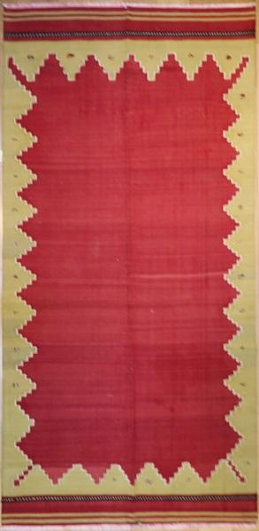 R6382 Turkish Vintage Avonya Kilim Rug