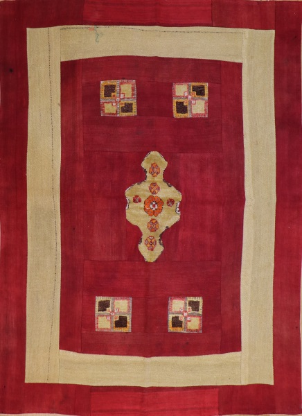 R3755 Turkish Vintage Carpet Patchwork