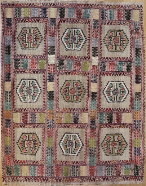 R4629 Turkish Vintage Cicim Rugs