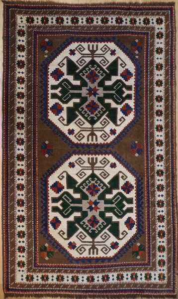 R7692 Turkish Vintage Kars Carpets