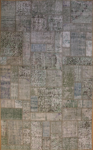 R8990 Turkish Vintage Overdyed Patchwork Rugs