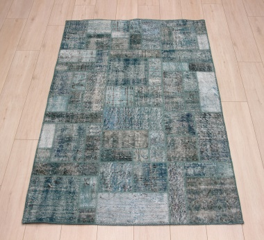 R8994 Turkish Vintage Overdyed Patchwork Rugs