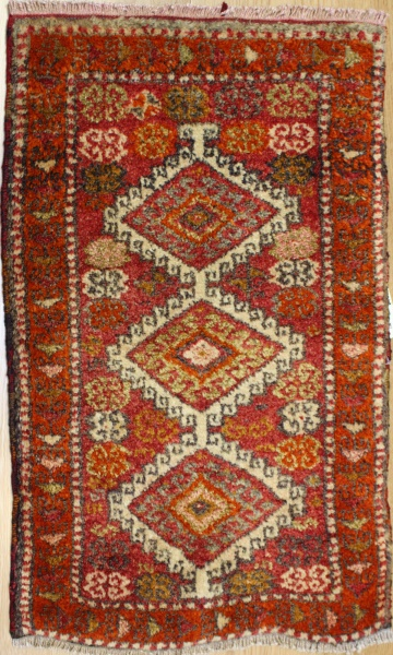 Turkish Vintage Small Rugs R7215
