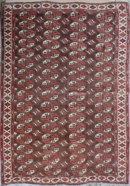 R1150  Beautiful Antique Yomut Carpet