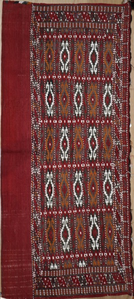R7055 Turmenistan Floor Kilim Cushion Cover