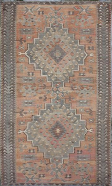 R5441 Antique Ushak Kilim Rug