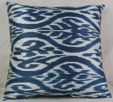 i36 Uzbekistan ikat handwoven decorative pillow cushion cover