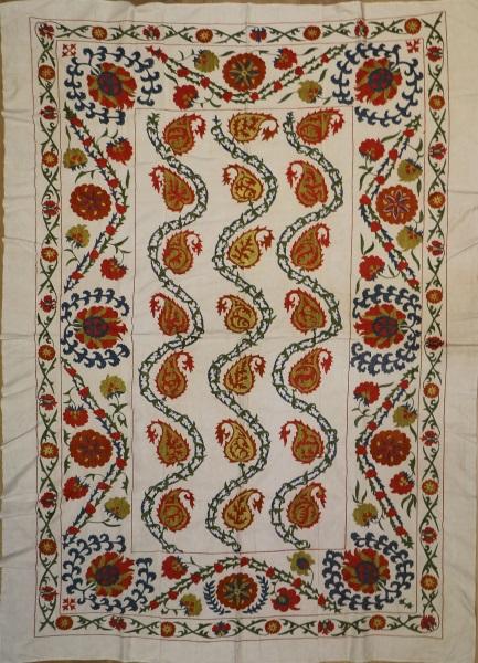 R4881 Uzbekistan Silk Suzani