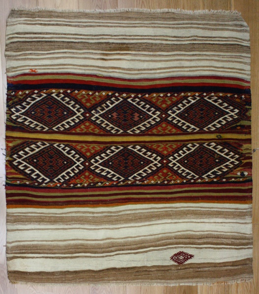 Beautiful Hand Woven Tribal And Village Turkish Cicim
