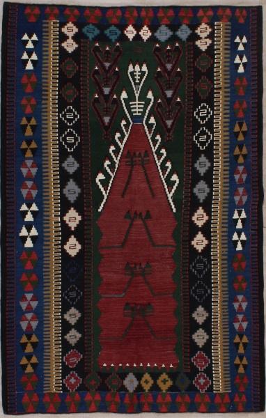 R8160 Village Turkish Kilim Rugs