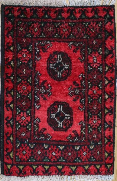 R9202 Vintage Afghan Rug