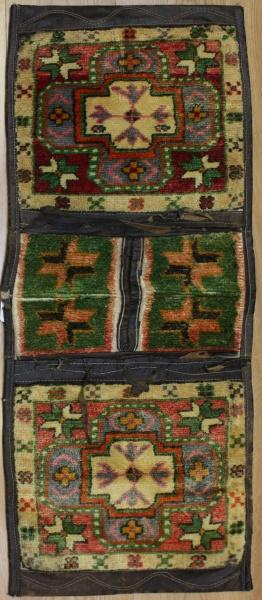Vintage Anatolian Carpet Saddle Bag R7951