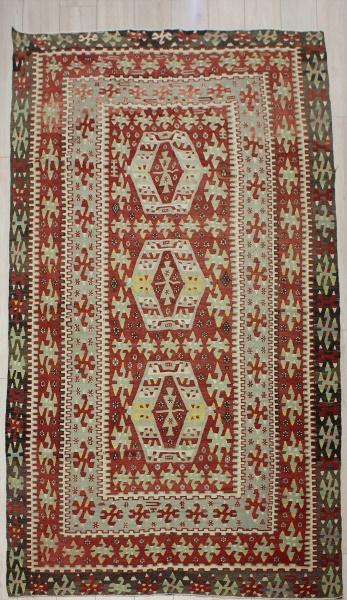 R8004 Vintage Anatolian Esme Kilim Rug