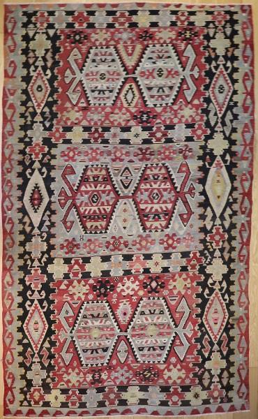 R8007 Vintage Anatolian Esme Kilim Rug