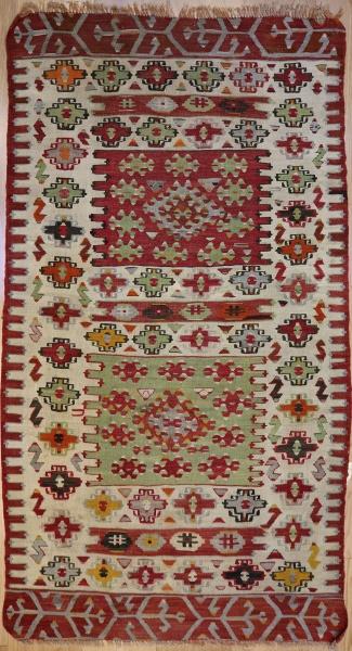 R6961 Vintage Anatolian Kilim Rug