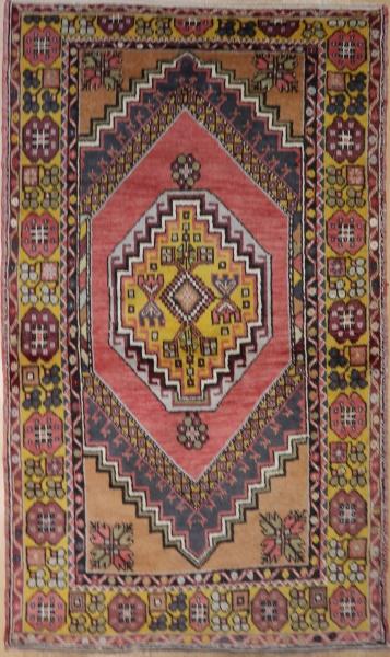 R161 Vintage Anatolian Rug