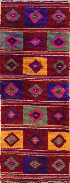R7908 Vintage Anatolian Tulu Carpet Runner