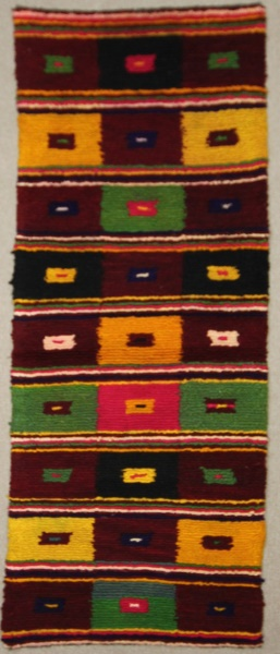 Vintage Anatolian Tulu Carpet Runner R7907