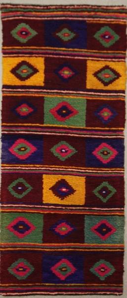 Vintage Anatolian Tulu Carpet Runner R7908
