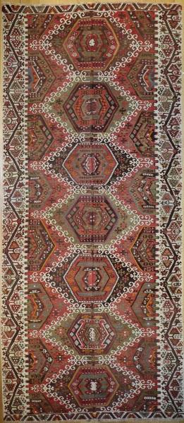 R6623 Vintage Avsar Kilim Rug